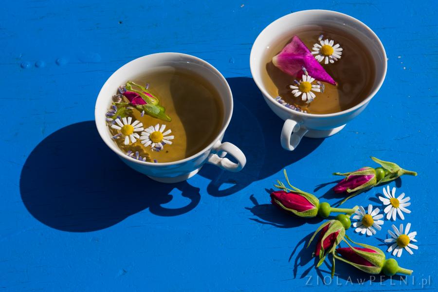 herbatka z rumianku